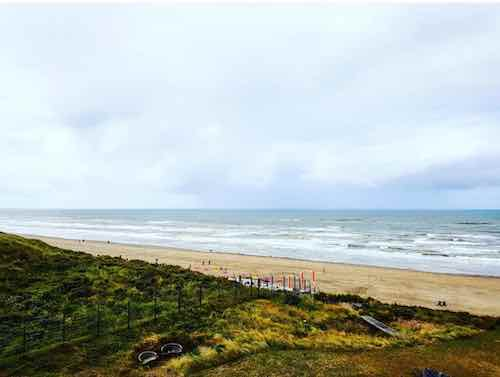 One week stay in a beautiful 2 bedroom apartment on the sea in Zandvoort, the Netherlands.