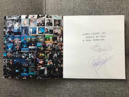 Signed copy of Album Sleeve Art Book by Govert de Roos and Rens Benerink.